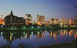 Saskatoon Skyline, Stadtzentrum - Photo Credit: Tourism Saskatoon