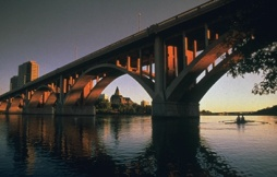 Saskatoon Skyline, Broadway Bridge - Photo Credit: Douglas E. Walker Tourism Saskatoon